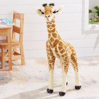 Melissa & Doug Lifelike Baby Giraffe Plush Soft Toy
