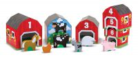 Melissa & Doug Barns & Farm Animals Nesting & Sorting Blocks