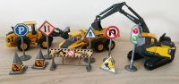 Volvo Construction Diecast Vehicles & Signs Play Set - 3 Vehicles