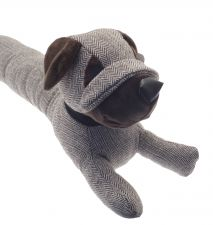 Dog Draft Excluder - Tweed - 2 Colours