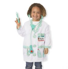 Melissa & Doug Doctor Fancy Dress Outfit