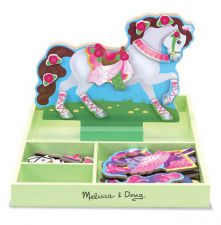 My Horse Clover Magnetic Dress Up Playset - Melissa & Doug
