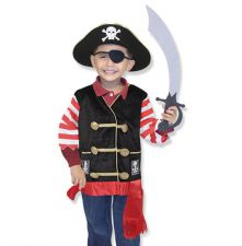 Melissa & Doug Pirate Fancy Dress Outfit