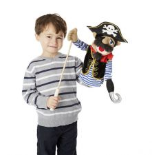 Melissa & Doug Deluxe Pirate Puppet