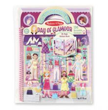Melissa & Doug Day of Glamour Puffy Sticker Activity Book