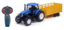 Remote Control New Holland T7070 Tractor & Trailor
