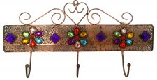 Moroccan Style Jewelled Coat Hooks