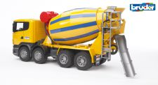 Scania R-Series Cement Mixer Truck - Bruder 0554 Scale 1:16