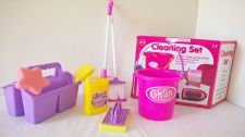 Cleaning Toy Play Set - 8 Items