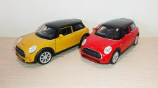 New Mini Hatch Diecast Scale Model Car Scale 1:38