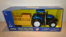 New Holland T7070 Tractor & Trailer - Makes Sounds