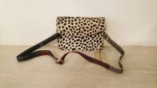 Cheetah Animal Print 100% Real Leather Handbag - Carpe Diem