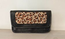 Leopard Animal Print 100% Real Leather Purse - Carpe Diem