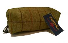 Tweedmill Tweed Wash Bag or Make up Bag