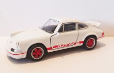 Porsche Carrera RS 1973 Classic Die Cast Model Car 1:38 Scale