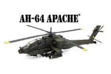Apache AH-64 Helicopter 1:55 Die Cast Scale Model
