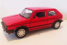 Volkswagen Golf 1 GTI Classic Die Cast Model Car 1:38 Scale