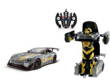 RS Transformable Car Mercedes AMG GT3 to Robot - Licensed Remote Control