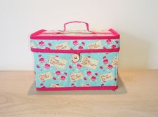 Sewing Or Craft Storage Box - Roses or Scottie Dog