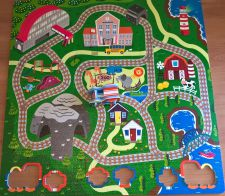 Play Mat Floor Puzzle - Train Track