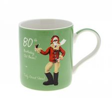 80th Birthday Mug - Male - 80th