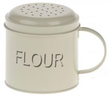 Flour Shaker Cream Enamel Kitchen Range