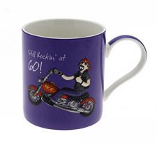 60th Birthday Mug - Male - Still Rocking at 60