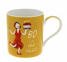80th Birthday Mug - Female - 80
