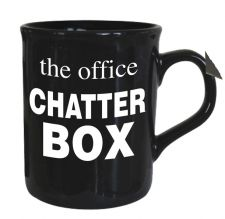 Chatter Box - The Office Mug - Black