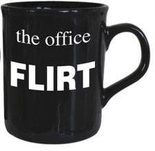 Flirt - The Office Mug - Black