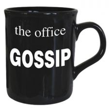 Gossip - The Office Mug - Black