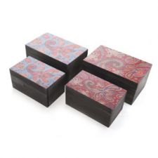 Small Indian Style Decorative Wooden Boxes