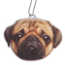 Scented Pug Dog Air Freshener