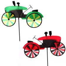 Tractor Garden Windmill on Spike - Novelty - 2 Colours
