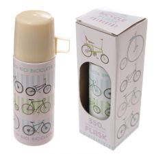Retro Rides Bicycle Design 350ml Flask