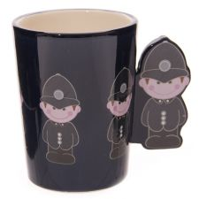 Policeman Handle Ceramic Mug in Box - Ted Smith