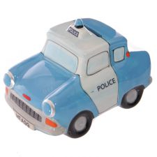 1950s Ford Anglia Police Car Money Box