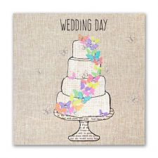 Wedding Day Card - Wedding Cake