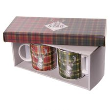 Bone China Stag Design Mug Gift Set