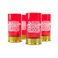 Shot Glasses Gift Set - 12 Gauge Shot Glasses