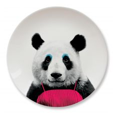 Wild Dining Party Animal Panda Plate