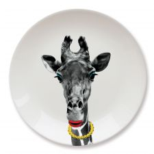 Wild Dining Party Animal Giraffe Plate