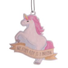 Unicorn Fairy Cake Air Freshener - My Other Ride is a Unicorn
