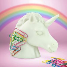 Unicorn Magnetic Stationary Paperclip Holder