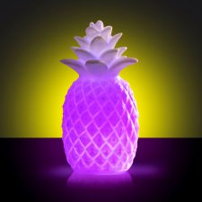 Pineapple Colour Changing LED Lamp