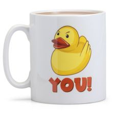 Duck You - Say What You See Mug