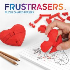 Heart Puzzle Erasers - Frustrasers