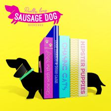 Sausage Dog Bookends - Really Long