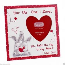 Heart Picture Frame - For the One I Love