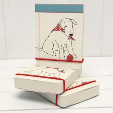 Douglas Flip Notebook - Douglas The Boy Wonder - The Little Dog